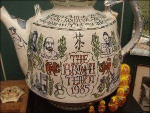 Музей чая и кофе в Лондоне чайник фото