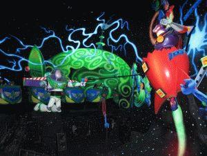 Buzz Lightyear Laser Blast disneyland