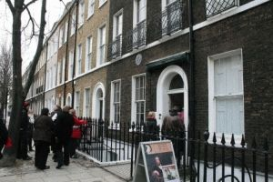 Charles Dickens Museum Музей Чарльза Диккенса в Лондоне