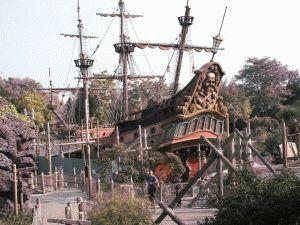 La Plage des Pirates Пиратский пляж Диснейленд