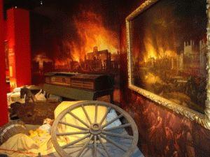 Музей Лондона Большой лондонский пожар 1666