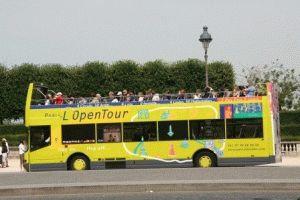 Paris LOpenTour foto туристический экскурсионный автобус