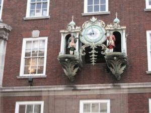 достопримечательности лондона фото - часы на доме