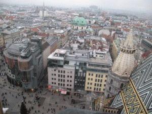 Вид Вены Австрия фото