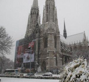 Зимняя Вена фото