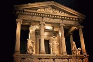 Храм Артемиды в Эфесе - шедевры Британского музея