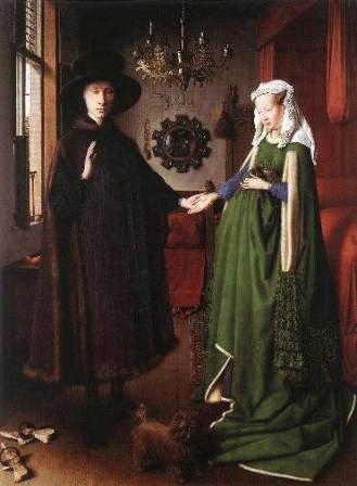 Ян ван Эйк «Портрет супругов Арнольфини» Национальная галерея Лондон