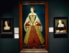 National Portrait Gallery портреты королев - посмотреть с детьми