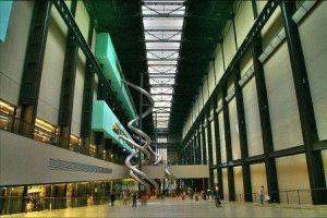 Галерея Тейт Модерн в Лондоне (Tate Modern)  фото внутри