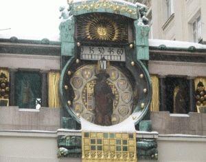 Часы АнкерУр размещаются в галерее