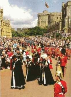 Церемония Подвязки (The Garter Ceremony)