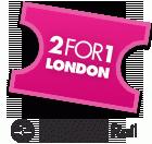 Скидки 2FOR1 (2в1) в Лондоне
