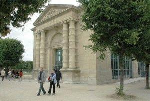Музей Оранжери в Париже (Musee de l'Orangerie) сад Тюильри