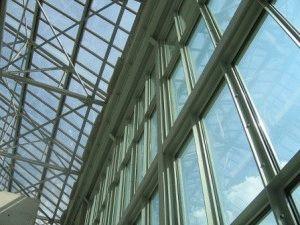Музей Оранжери в Париже стеклянная крыша