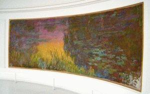 картины Моне, которые можно увидеть в музее Оранжери