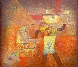 Paul Klee KN der Schmied