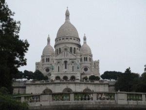 Базилика Сакре Кёр Sacre Coeur, Монмартр, Париж