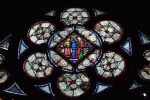церковь сент шапель париж внутри