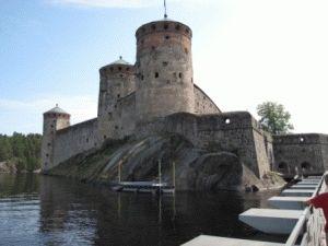 Savonlinna Olavinlinna одна их лучших в Финляндии крепость Олавинлинна