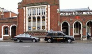 От вокзала Waterloo в Лондоне поездом до станции Windsor Eaton Riverside