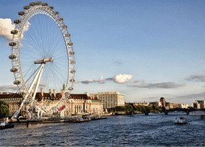Колесо обозрения  London Eye (Лондонский Глаз)