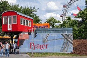 prater Парк Пратер в Вене и Колесо обозрения