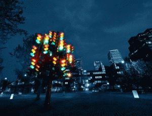 traffic light tree Светофорное дерево лондон