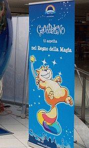GattoBaleno кот символ парка Rainbow Magicland