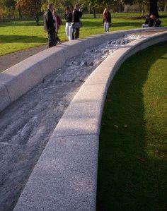 Hyde Park мемориальный фонтан принцессы Дианы