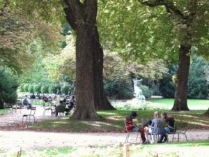 Jardin du Luxembourg Люксембургский сад фото
