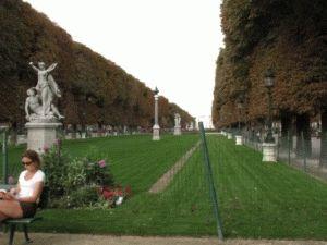 Jardin du Luxembourg картинка Люксембургский сад Париж
