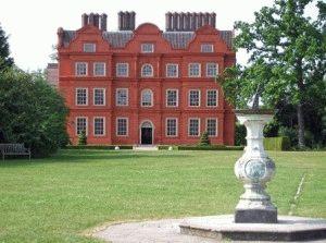 Kew Gardens дворец короля Георга III (Kew Palace)