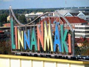 Парк Линнанмяки (Linnanmaki) в Хельсинки