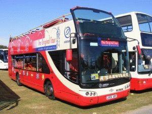 Двухэтажный туристический автобус The Original Tour Лондон