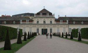 Palais Belvedere Нижний Бельведер Вена фото