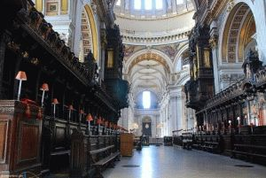 St Paul Cathedral  архитектор собора Кристофер Рен