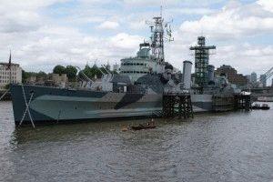 Крейсер Белфаст (HMS Belfast) – плавучий военно-морской музей Лондона