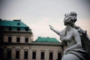 belveder дворец бельведер в Вене фото