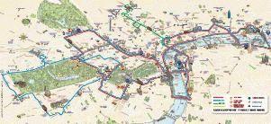 big bus лондон карта маршрута скачать