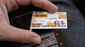 Paris Visite – проездной на 1, 2, 3 или 5 дней