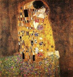 klimts kiss Климт Поцелуй картина
