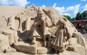 lappeenranta скульптуры из песка