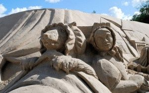 lappeenranta песок скульптура