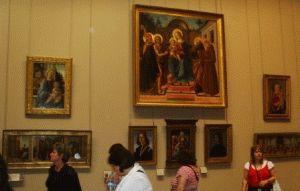шедевры музея Лувр фото