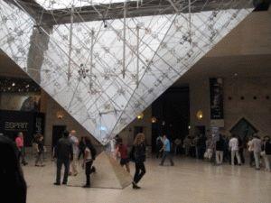 luvr piramida Пирамида в Лувре фото, вход в Лувр