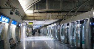 современная автоматическая линия 14 метро Париж