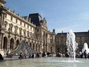 Музей Лувр в Париже (Musee du Louvre, Paris)