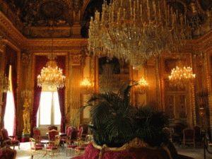 История Лувра Покои Наполеона 3 фото