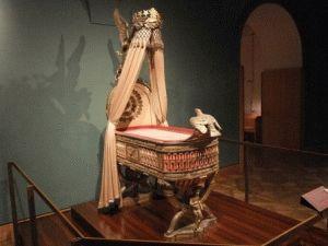 колыбель сына Наполеона фото Сокровищница Вена