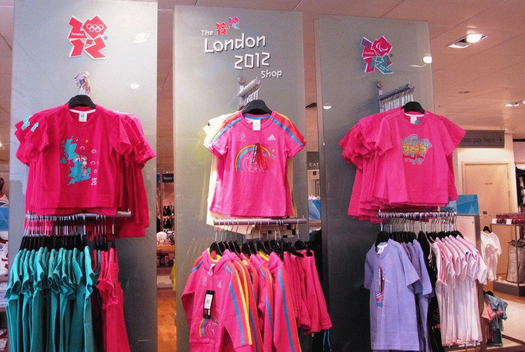 лондон 2012 товары с олимпийской символикой фото